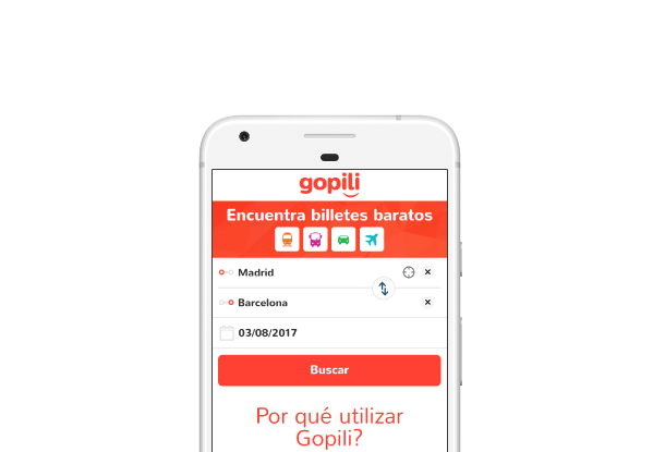 Gopili Versión Android