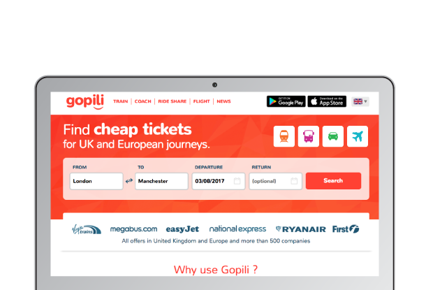 Gopili desktop version